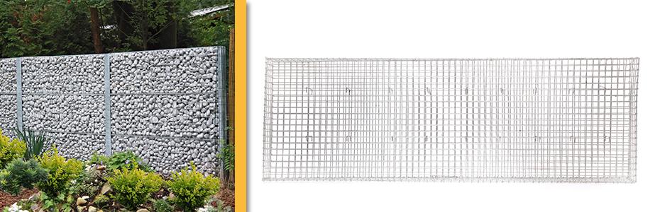 giardino muurkorf varese 100 incl.krammen (100 x 37.5mm)