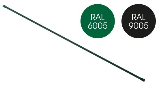 giardino spanstaaf geplastificeerd ral9005 zwart