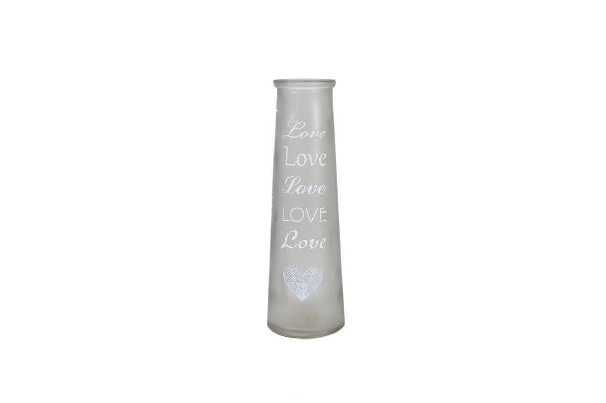 glas met print chanyn s grijs