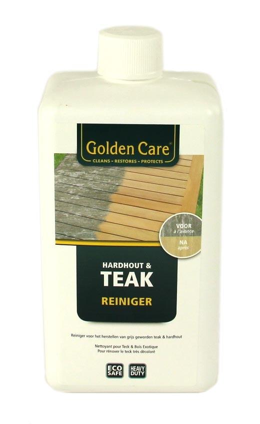 golden care hardhout & teak reiniger