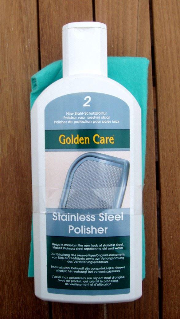 gt stainless steel polisher 2 + doek