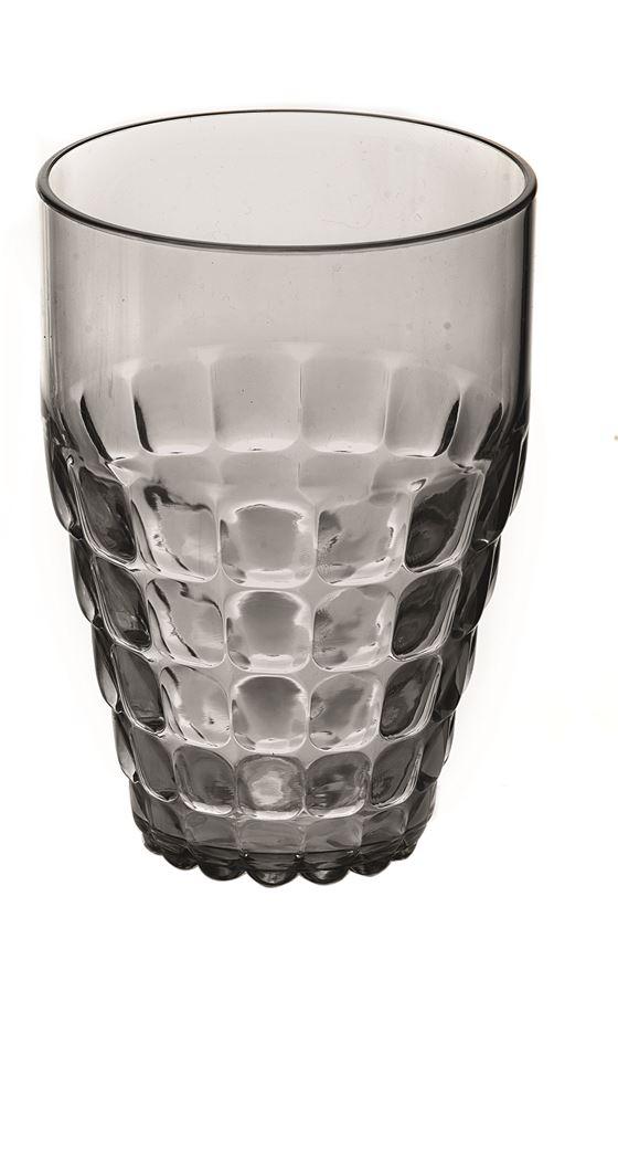 guzzini drinkglas hoog grijs