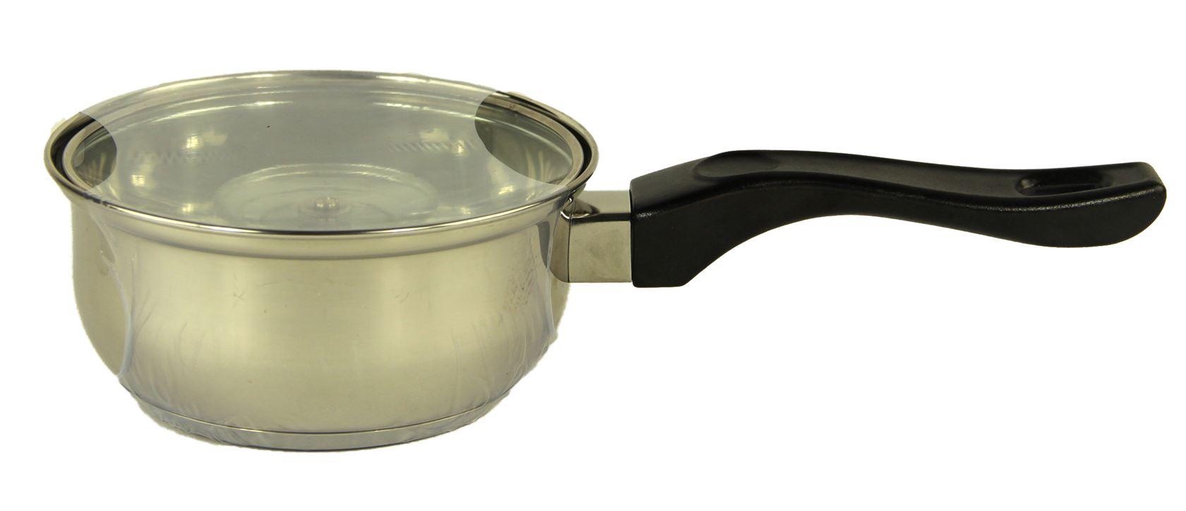 haute cuisine bakeliet steelpan + deksel