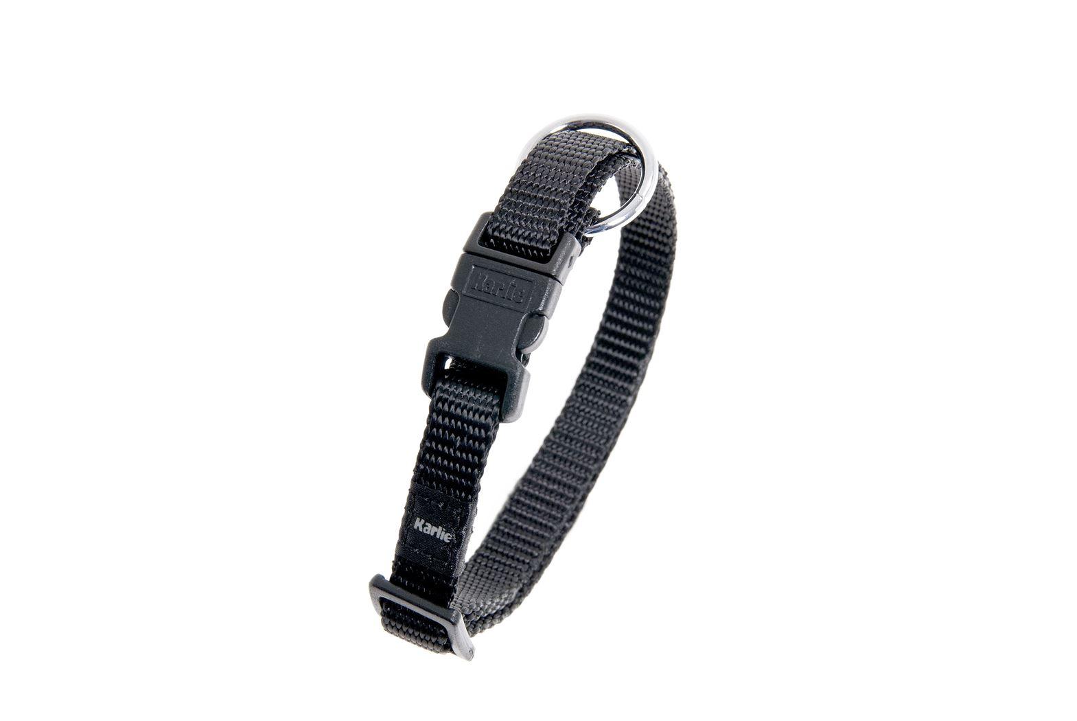 halsband asp zwart