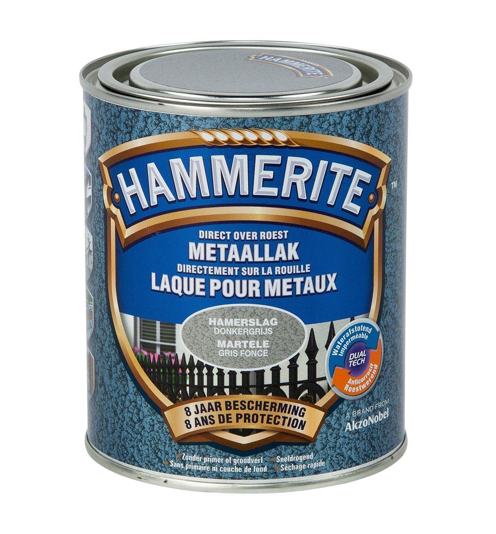 hammerite hamerslaglak donkergrijs