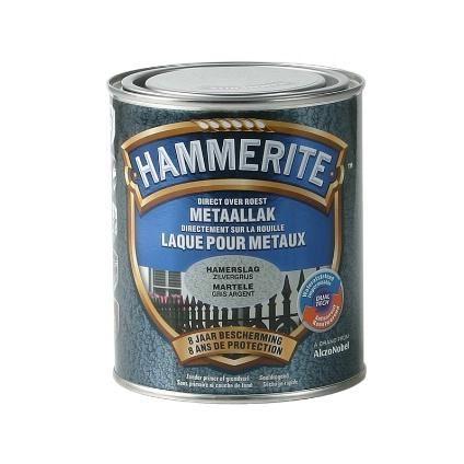 hammerite hamerslaglak zilvergrijs