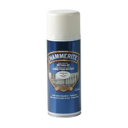 hammerite hoogglanslak spray wit