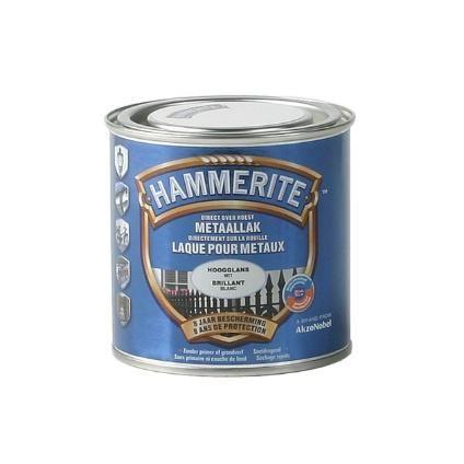 hammerite hoogglanslak wit