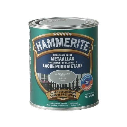 hammerite satijnglanslak grijs