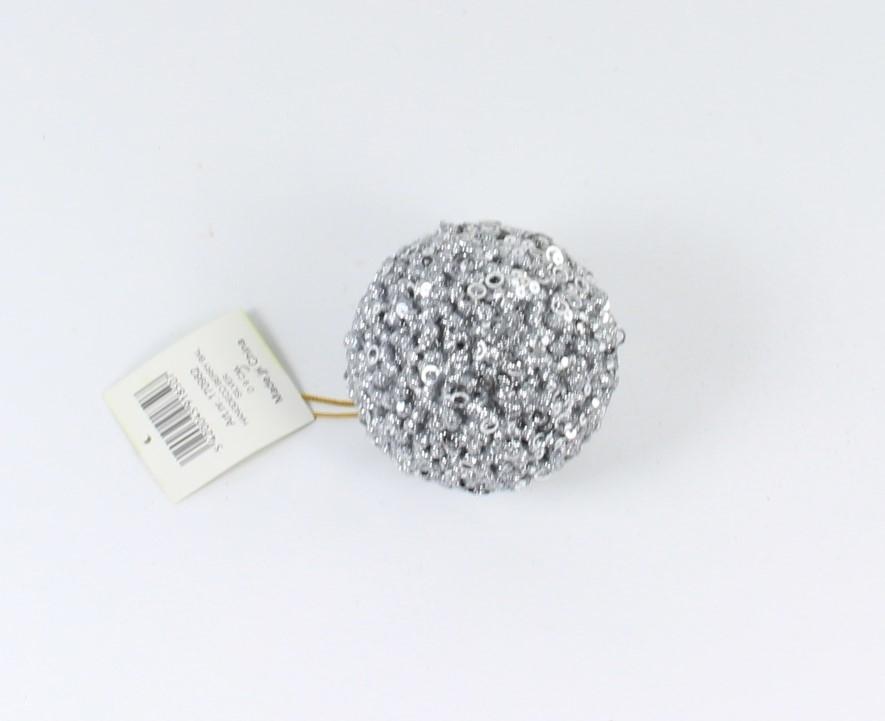 hangdeco berry bal zilver