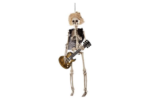 hangdeco skelet met gitaar