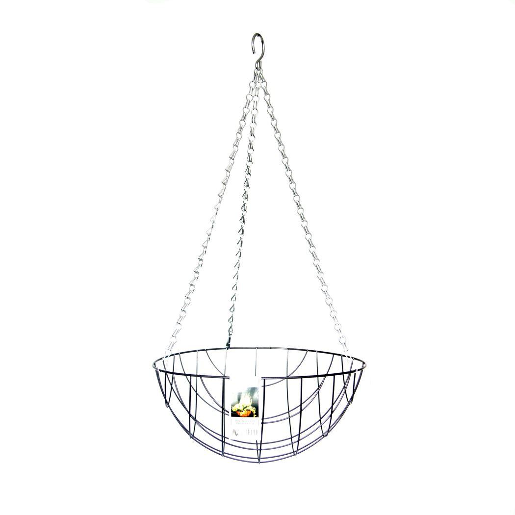 hanging basket antraciet