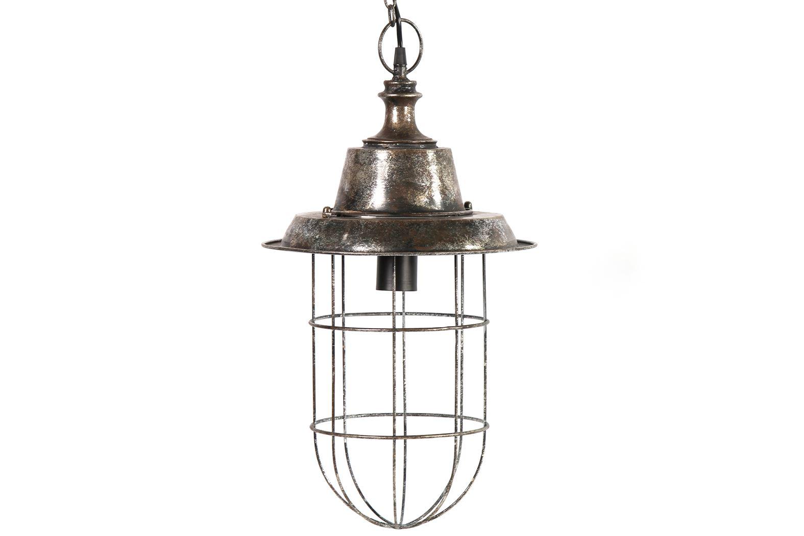 hanglamp e27 dawne grijs (220-240v)