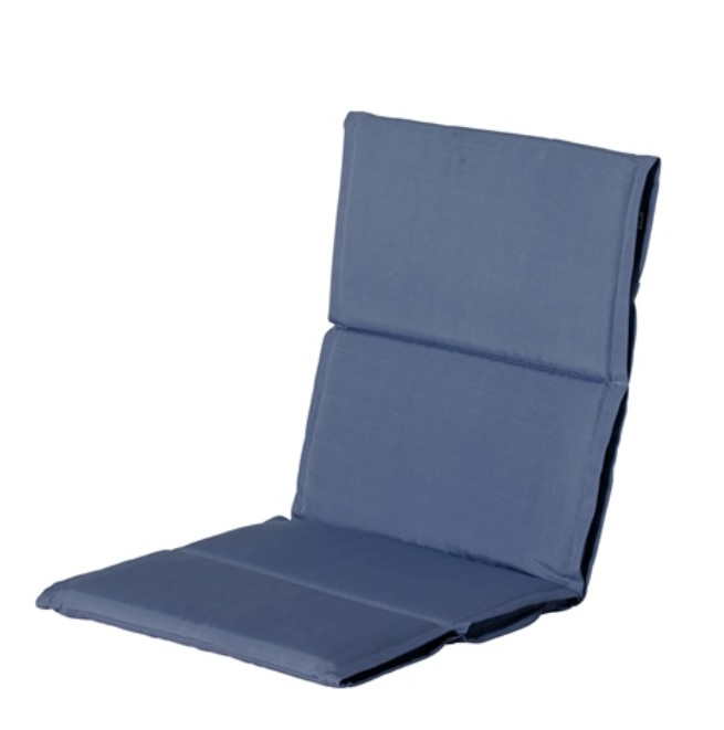 hartman tuinkussen lage rug sling casual steelblue