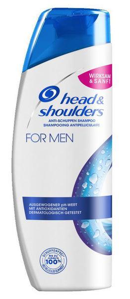 head & shoulders shampoo for men