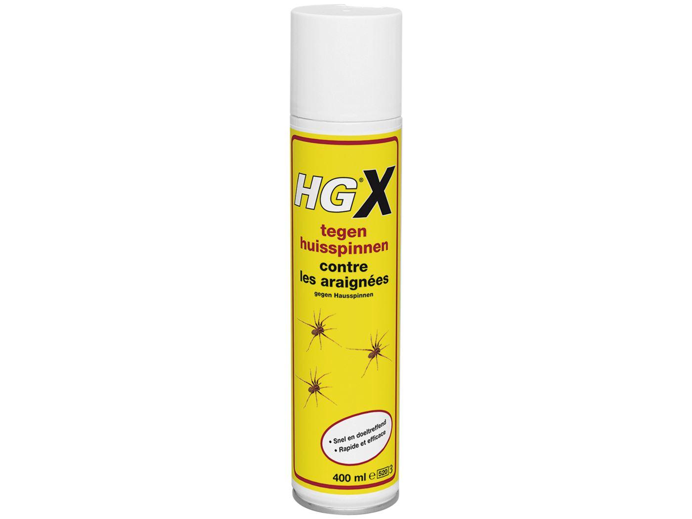hgx spray tegen huisspinnen