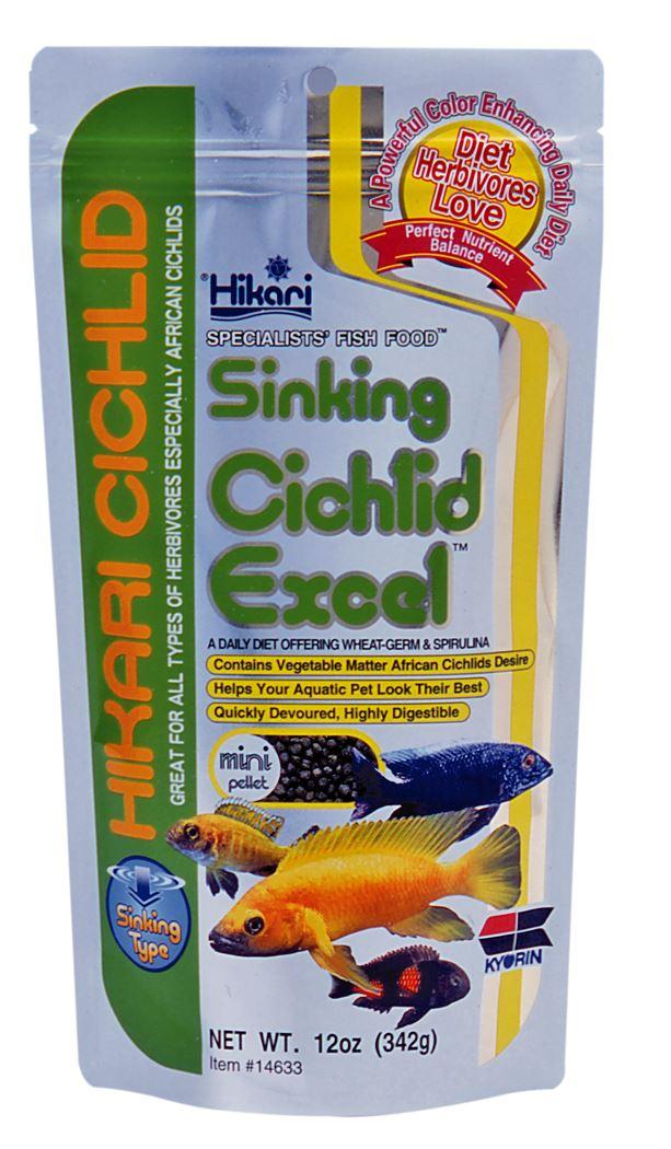 hikari cichlid excel mini zink