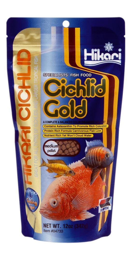hikari cichlid gold medium zink