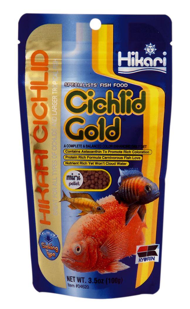 hikari cichlid gold mini zink