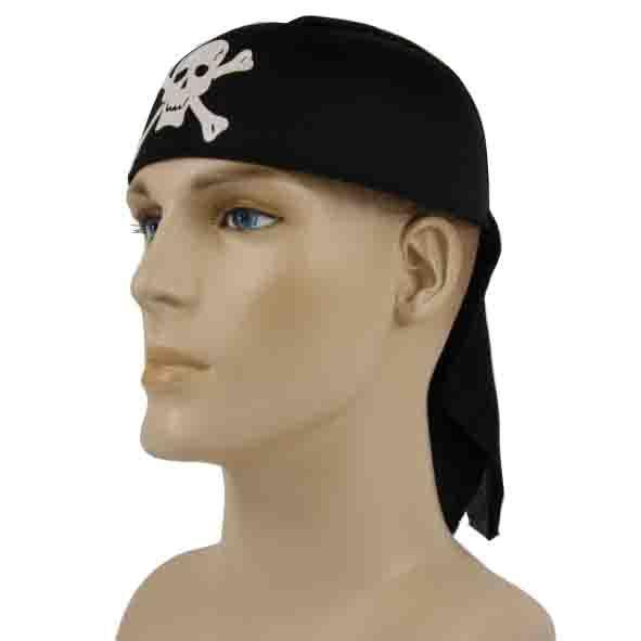 hoed piraat skull print