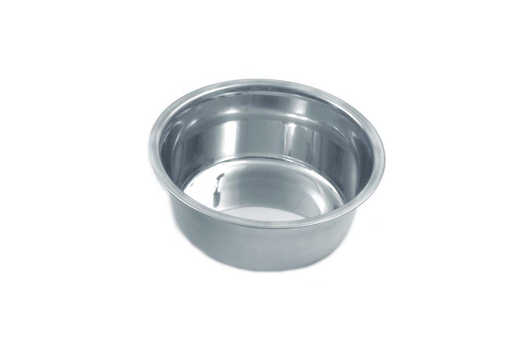 hondenpot inox nr.2 - 0.75 ltr.