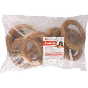 hondensnacks buffelhuid - ring (180 g)(10sts)