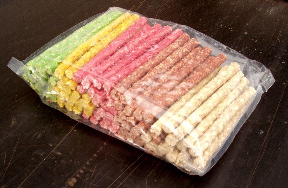 hondensnacks munchy - sigaretje ass.kleuren (100st