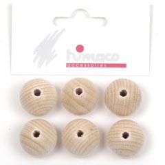 houten bol (12sts)
