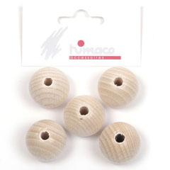 houten bol (8sts)