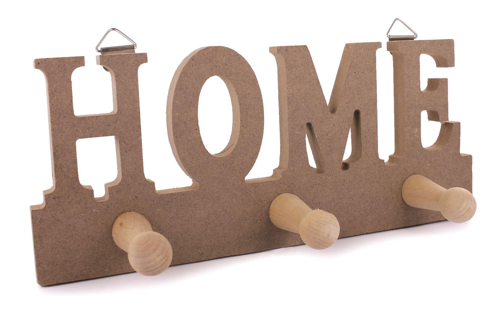 houten home kapstok