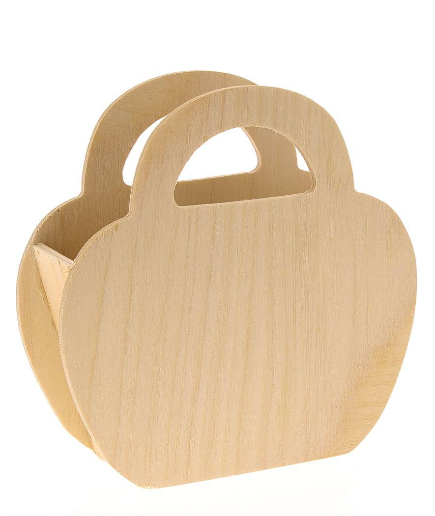 houten mand