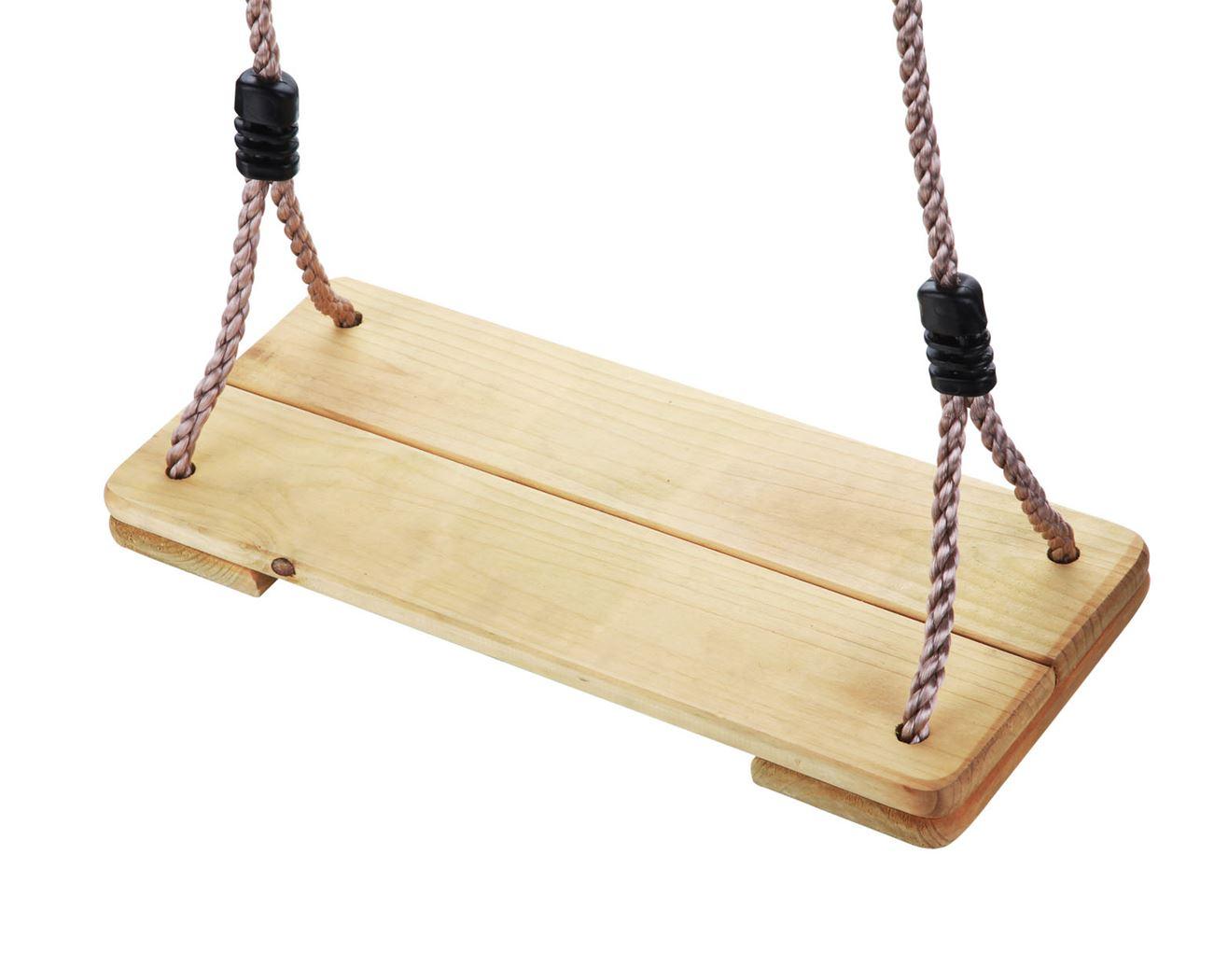 houten schommelzitje