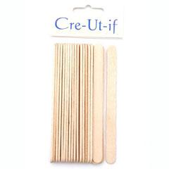 houten stokje plat (20sts)