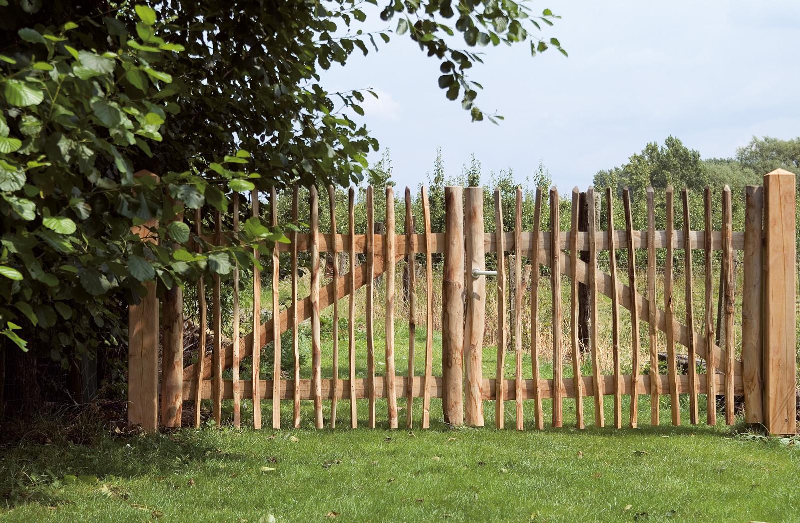 kastanjehouten poort