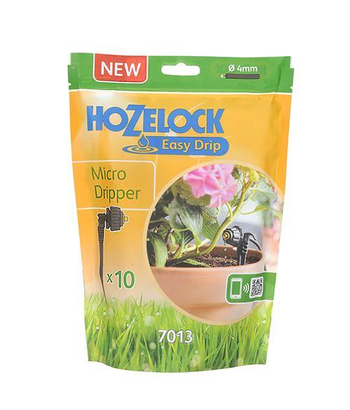 hozelock easy-drip universele micro druppelaar (10sts)