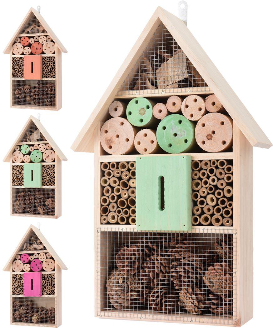 insectenhotel hout naturel