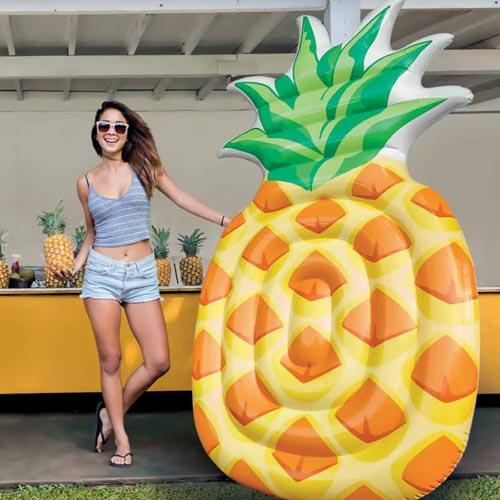 intex luchtmatras ananas