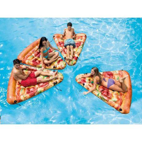 intex luchtmatras pizzapunt