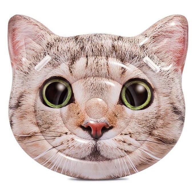intex opblaasbaar luchtbed cat face