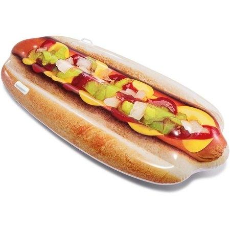 intex opblaasbaar luchtbed hotdog