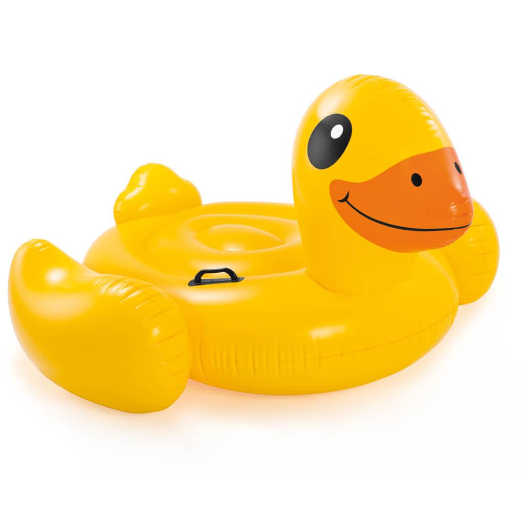 intex ride-on gele eend