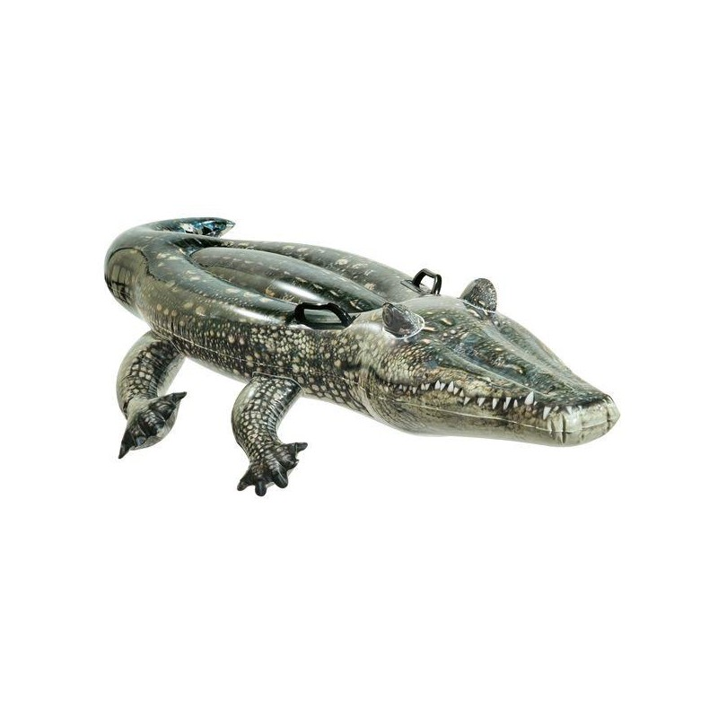 intex ride-on opblaasbare krokodil