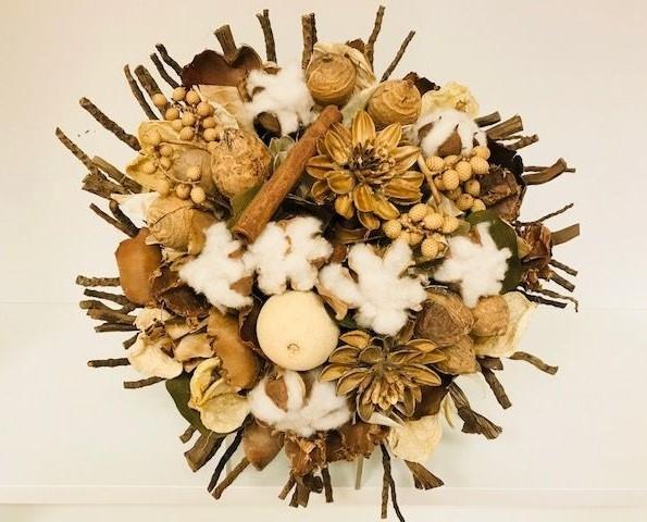 jac bouquet large natural pattuli