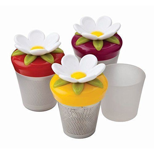 joie thee infuser uit rvs bloem