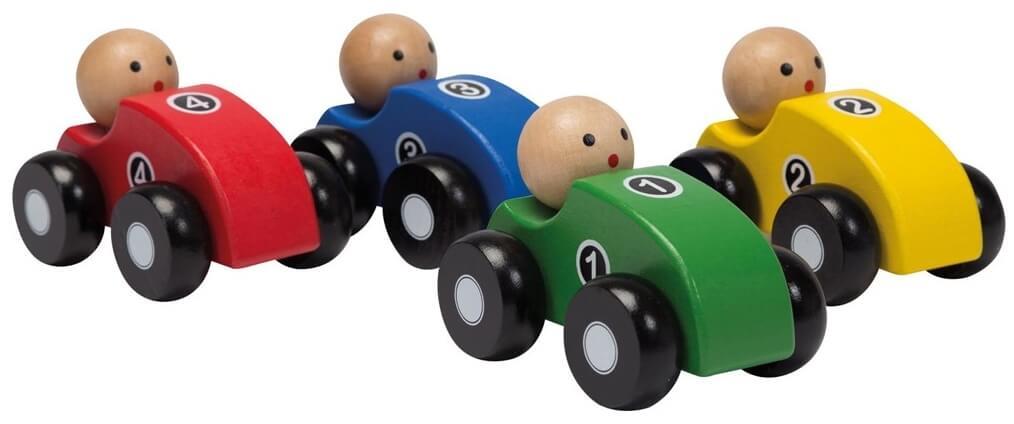 jouéco houten auto s (4ass.)