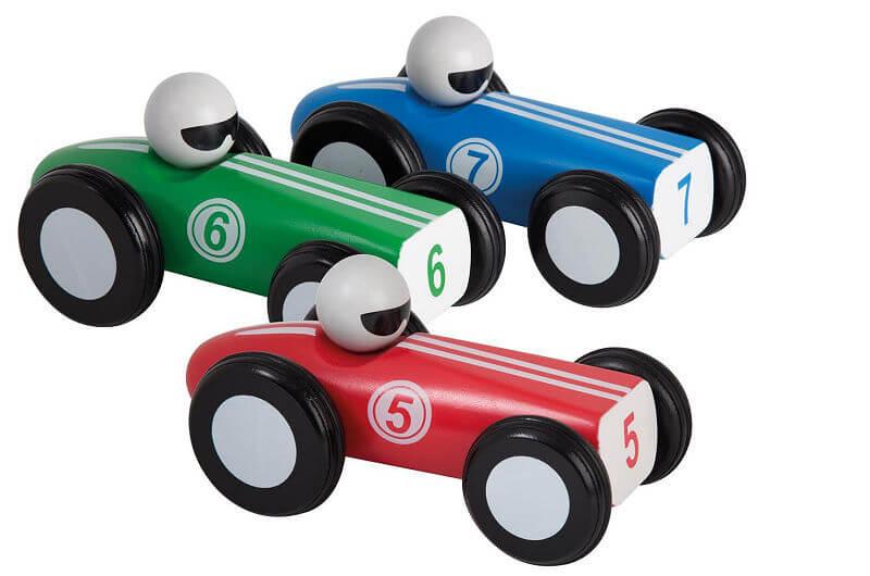 jouéco houten raceauto (3ass.)