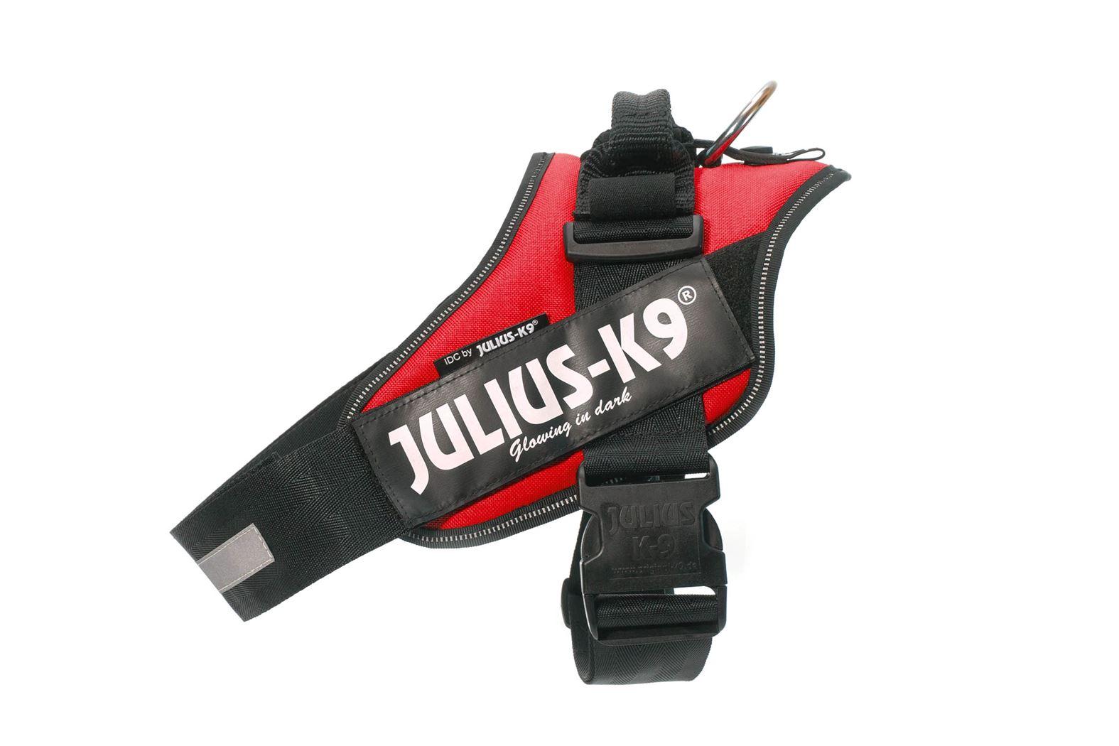 julius-k9 idc power harnas mini-mini rood
