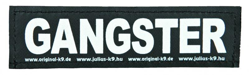 julius-k9 velcro sticker large gangster (2sts)