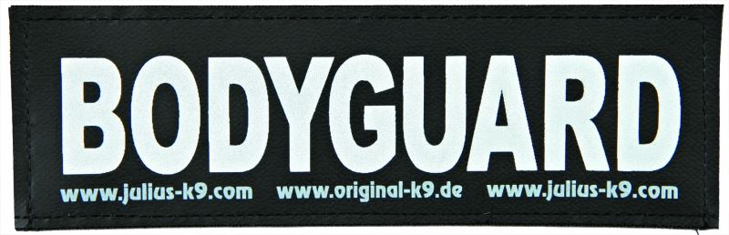 julius-k9 velcro sticker small bodyguard (2sts)