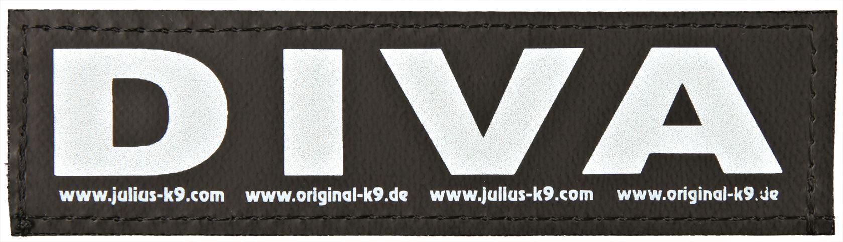 julius-k9 velcro sticker small diva (2sts)